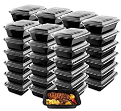 Pack a healthy lunch box for your child or spend days trucking across the country, you will love using these durable and reusable lunch boxes everywhere you go! 🛒 Superior Quality Meal Prep Containers to Keep you and Your Customers Happy! The...