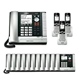 VTech UP416 Office Bundle Corded Phone System with (11) UP406 Corded Extension Deskset and (3) UP407 Cordless Handset