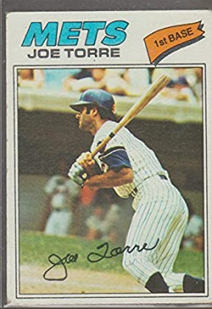 Amazoncom 1977 Topps Joe Torre Mets Baseball Card 425