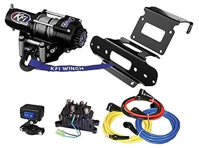 KFI Combo Kit - A2000 Winch & Winch Mount - 2007-2013 Honda TRX420 (FA/FE/FPA/FPE/FPM/FM/PG) Rancher 4x4