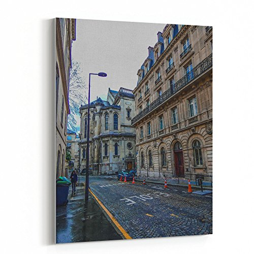 (Westlake Art - Building Town - 16x20 Canvas Print Wall Art - Canvas Stretched Gallery Wrap Modern Picture Photography Artwork - Ready to Hang 16x20 Inch (D41D8))