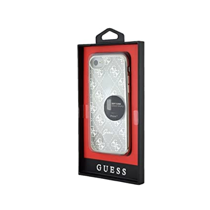 Guess GUHCP7TRHG Signature Heart TPU Schutzhülle für Apple iPhone 7 Gold