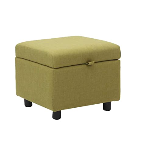 Brilliant Amazon Com Hmeigui Storage Ottoman Foot Stools Bench Onthecornerstone Fun Painted Chair Ideas Images Onthecornerstoneorg