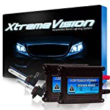 XtremeVision 35W HID Xenon Conversion Kit with Premium Slim Ballast - 9012 4300K - Bright Daylight - 2 Year Warranty