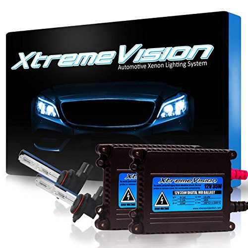 Conversion Replacement Oldsmobile Kit (XtremeVision 35W HID Xenon Conversion Kit with Premium Slim Ballast - 9012 5000K - Bright White - 2 Year Warranty)