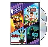 4 Film Favourites - Family Fun Collection [Kangaroo Jack / Racing Stripes / Any Bully / Iron Giant]