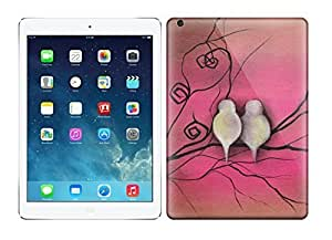 Awesome Love Birds Flip Case With Fashion Design For Ipad Air