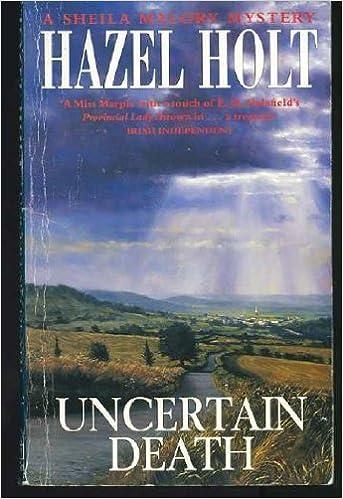 Book An Uncertain Death by Hazel Holt (1994-02-25)