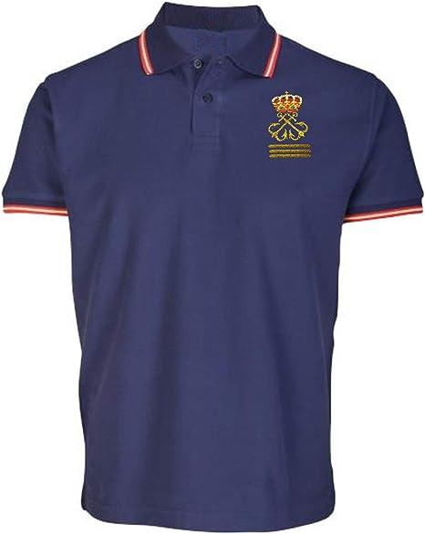 Polo Liso Capitán de Yate (CY) Bandera de España + Gorra + ...