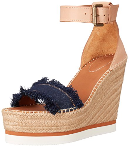 Navy See by Sandal Chloe Women's Glyn Espadrille xvCSwqY