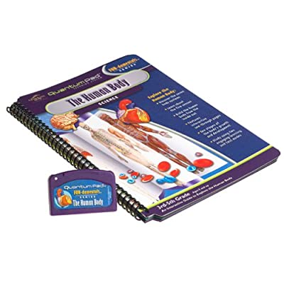 Quantum Pad Learning System: The Human Body Interactive Book and Cartridge: Toys & Games