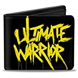 Buckle-Down PU Bifold Wallet - ULTIMATE WARRIOR