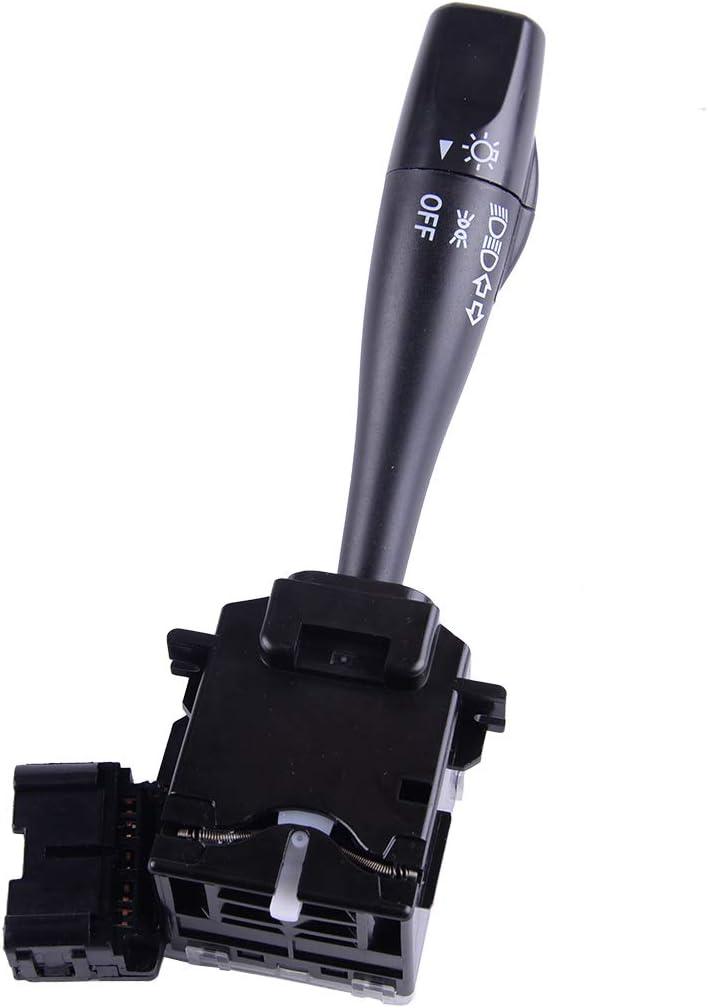 beler Interruptor de luz LHD Interruptor de Palanca de se/ñal de Giro 14Pin # UJ06-66-122