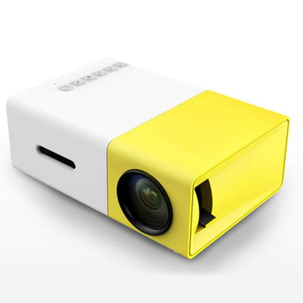 Amazon.com: Yg300 Led Mini Projector Audio Hdmi USB 3D Pico ...