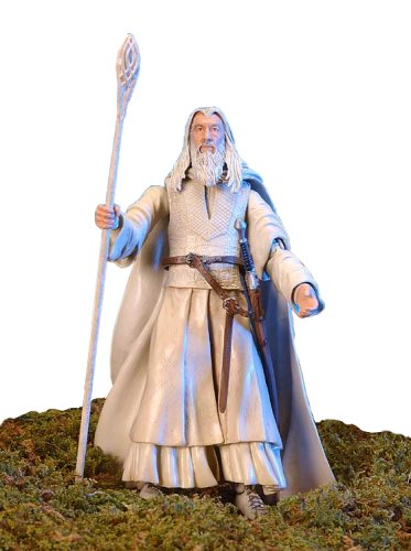 (Lord of the Rings Gandalf the White Figure - Original Two Towers Box Packaging)