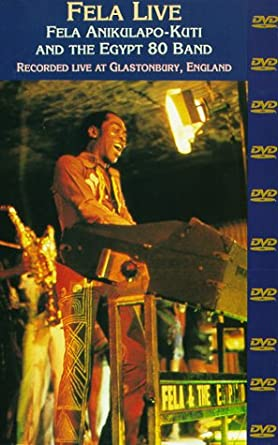 Amazon com: Fela Kuti Live: Fela Anikulapo-Kuti & The Egypt