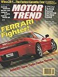 Motor Trend Magazine, January 1990 (Vol. 42, No 1)