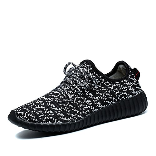 Walking Shoes for Women – Lightweight Mesh Lining Running Sneakers – Comfortable Fashion Sport Trainers Black 6.5US