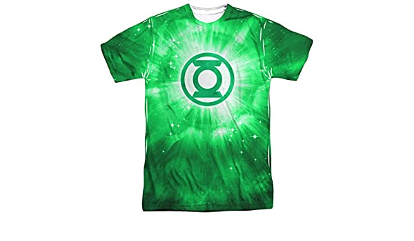 Amazon.com: Green Lantern Green Energy T-Shirt White Adult Mens Unisex Short Sleeve T-Shirt: Clothing