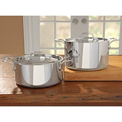 All-Clad Stainless Steel Casserole with Lid