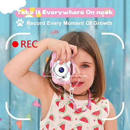 AOGELI Kids Camera for Girls Boys, Kids Selfie Camera, 20.0MP HD Digital Video Camera for Children, Dual Camera…