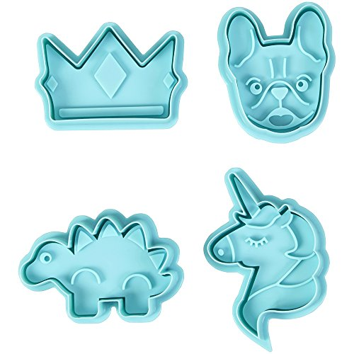 (ROSANNA PANSINO by Wilton Stamp Cookie Cutters, Animals)