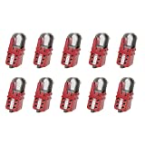 Panduit PSL-MLDH-X Multiple Lockout Device Hasp, Red (10-Pack)