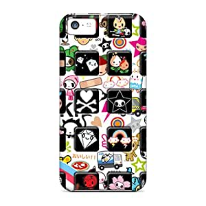 Iphone 5c LdI10271YfSc Unique Design High Resolution Tokidoki Iphone Skin Scratch Resistant Hard Phone Case -JamieBratt