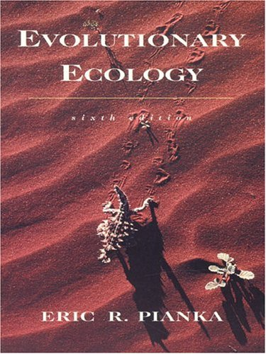 Evolutionary Ecology (6th Edition)