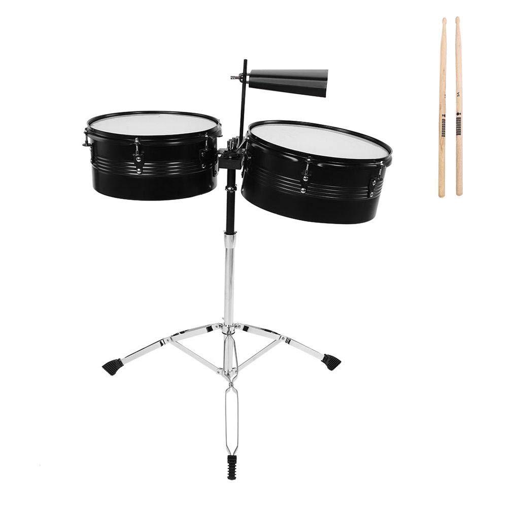 Timbales, RiToEasysports LADE Percussion Instrument Timbale Drum Set by RiToEasysports