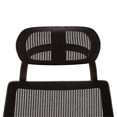 Alera ALEKEHR18 Headrest for K8 Chair, Mesh, Black by Alera (Image #3)