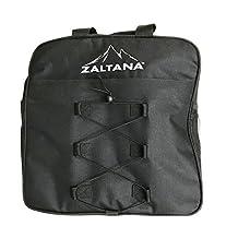 zaltana SKB30 Padded Ski Boot bag backpack - Skiing and Snowboarding Travel Luggage, Black
