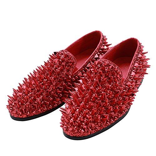 Casual Basse Da Red Scarpe Uomo Da Barbiere MYXUA Scarpe Scarpe wqaBxa4X