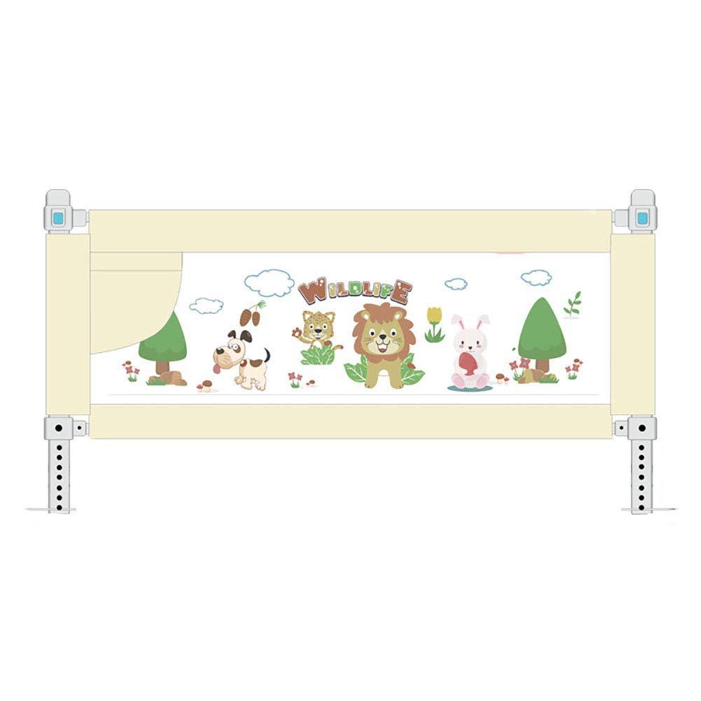 リフトベッドガードレール、フルサイズのベビーベッドレール、キングサイズベッド用の調整可能なベージュレール、幼児用の超高層ベッドレール (サイズ さいず : 200cm) B07JQV8NY2   200cm