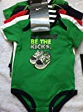 5 Pack Nike JUST DO IT Swoosh Bodysuits Onesies, Size 3-6 Months