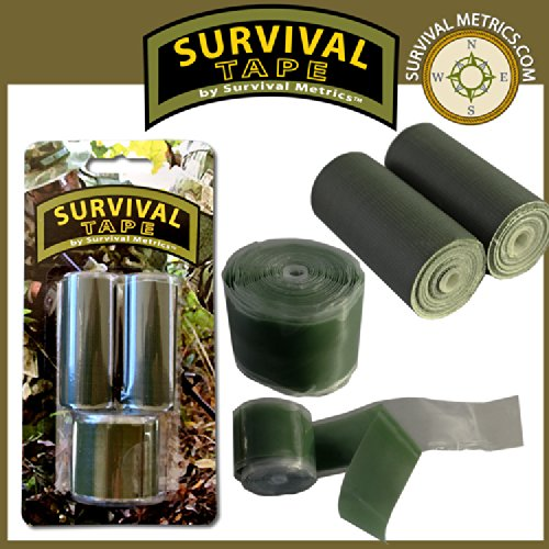 (Survival Tape Pak - Tactical & Military, for Survival & Emergency Kits)