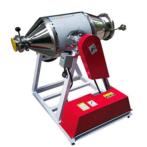 MXBAOHENG 50KG Laboratory Dry Powder Mixer Feed Mixer Particle Blender  Powder Mixing Machine Stainless Steel Granual Blender Mixing Capacity