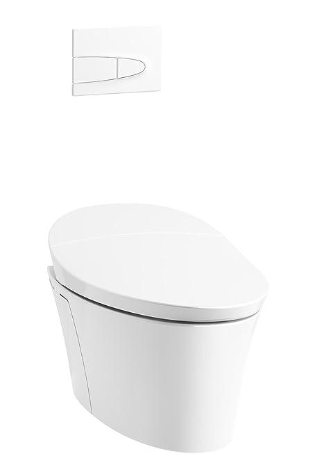 Buy KOHLER 5402-0 Veil Intelligent Wall-Hung Toilet, White Online ...