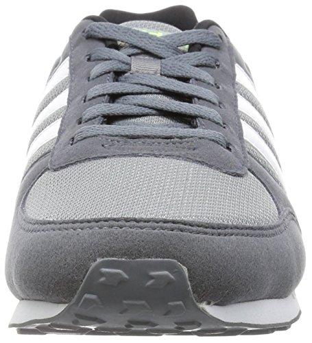 adidas City Racer, Chaussures de Sport Homme, 42 EU Gris (Grey/Ftwr White/Onix)