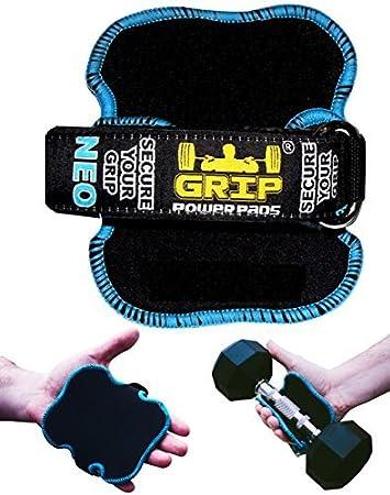 Mejores apretones de elevación por Power Grip Pads® NEO | Los Guantes Alternativa Para Gimnasio | guantes de entrenamiento antideslizante guantes ...