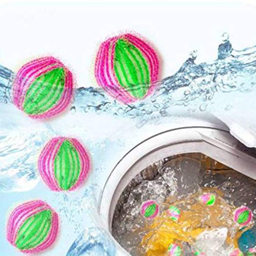Keshiwo 6PC Magic Hair Catcher Filter Remover Laundry Clean Ball,Health Household Home Kitchen All-Purpose Household Cleaners Tools Wellness Products cleaning supplies