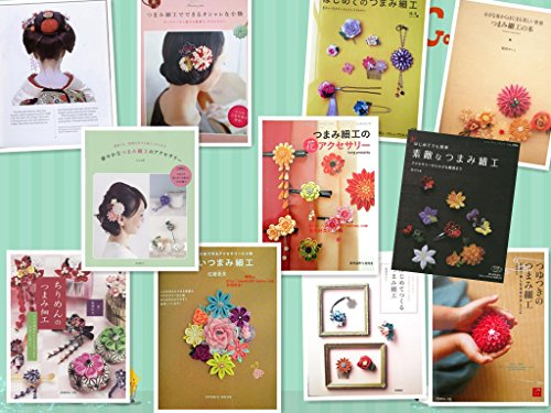 - usongs Japanese wind filigree flower hairpin making techniques tutorial and most complete 13 hairpin yukata kimono hair accessories electronic files