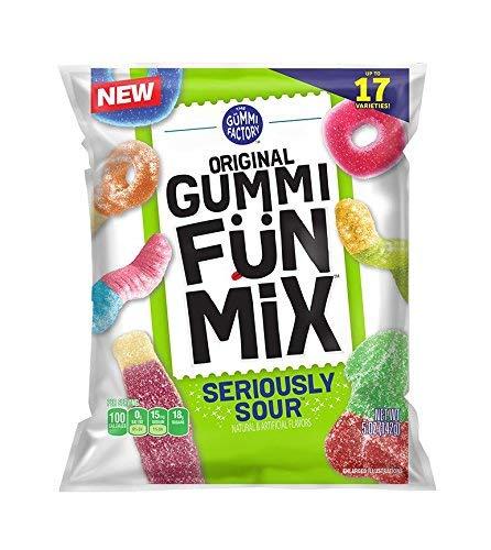 - Gummi Fun Mix Seriously Sour - 2 Bags
