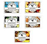 Sunny Beaches Variety Mix 5 Pack Scented Soy Wax Warmer Cube Melts 15 Oz 100% All Natural American Farm Raised Soy Wax Paraffin-Free. Essential Oil Vegan. Island Market, Coconut Lime. Butt Naked.