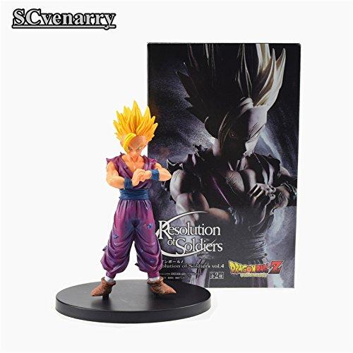 Anime Dragon Ball Z Son Gohan Resolution of Soldiers VOL 4 Son of Gokou Figure Trunks Super Seiya Action Figuras Model DBZ