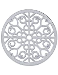 MS Koins Stainless Steel Coin Filigree Design Fits Our Coin Locket System, 30mm Diameter