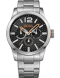 Hugo Boss Orange 1513238 47mm Silver Steel Bracelet & Case Mineral Men's Watch