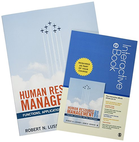 BUNDLE: Lussier: Human Resource Management, 3e + Lussier: Human Resource Management, 3e IEB