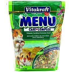 Vitakraft Menu Vitamin Fortified Hamster Food, 2.5 Lb.