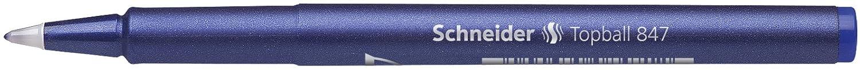 Pack of 10 Red Schneider Topball 847 Rollerball Pen